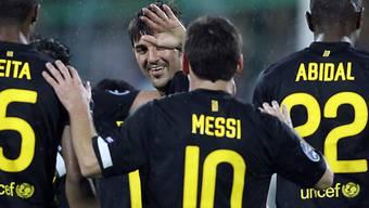 Leichtes Spiel für Messi & Co. in Minsk