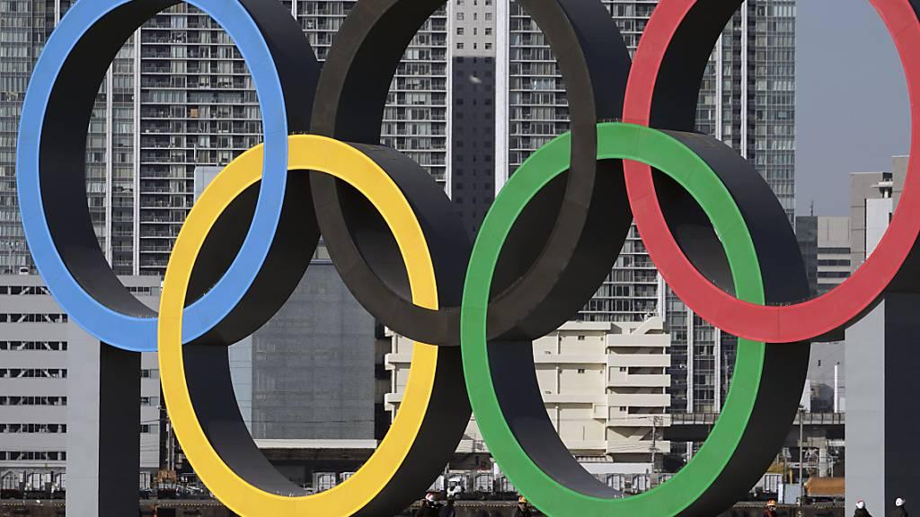 In den sieben Jahren seit der Vergabe stiegen die Ausgaben für die Sommerspiele in Tokio von 6,6 auf 13,6 Mia. Franken an
