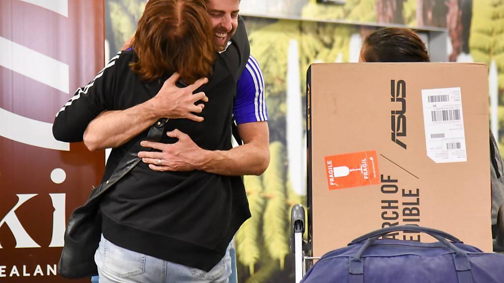 Wiedersehensfreude von kurzer Dauer: Neuseeland hat den Reise-Korridor mit Australien vorläufig wieder geschlossen. (Achivbild)