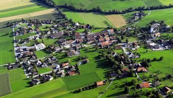Aedermannsdorf, von Norden her