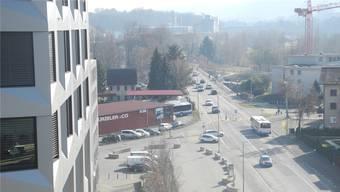 Rechtsabbiegen in die Limmatfeldstrasse wird ab September nicht mehr möglich sein. (Archivbild)