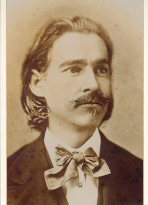 Der Firmengründer: Karoly Kovats, der das erste Geschäft in Hermannstadt 1870 eröffnete.
