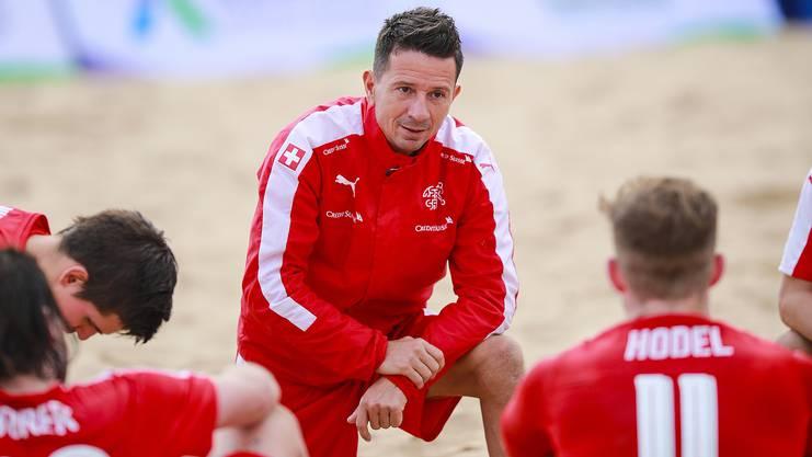 Der routinierte Nationaltrainer Angelo Schirinzi feierte mit der Schweiz schon einige Erfolge.