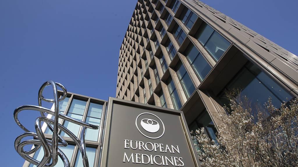 Die Europäische Arzneimittel-Agentur (EMA) in Amsterdam. Foto: Peter Dejong/AP/dpa