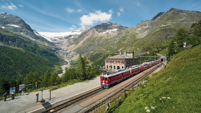 Swiss Travel System: Bernina Express Alp Grüm