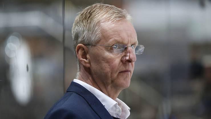 Mit dem SC Bern souveräner Leader: Trainer Kari Jalonen