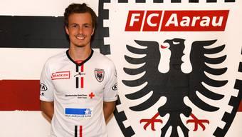 Leon Bergsma ist neuer Innenverteidiger beim FC Aarau (Vertrag bis 2022)