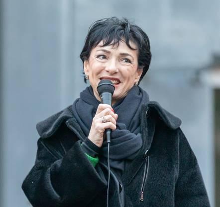 «Kein einziger Mann stand einer Frau vor der Sonne und schubste sie von der Liste», Marianne Binder-Keller, Präsidentin CVP Aargau