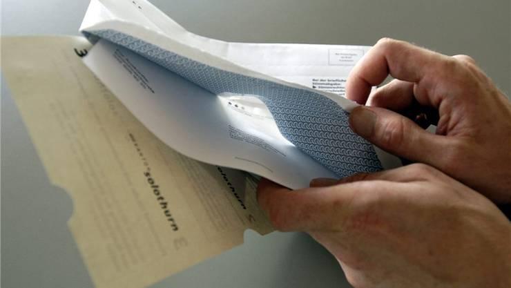 Bereits bei den nächsten Kantonsratswahlen 2013 sollen im Stimmmaterial keine überparteilichen Listenverbindungen mehr verpackt sein.mt