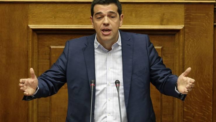 Hat Mühe, seine Partei auf Kurs zu bringen: Der griechische Premier Alexi Tsipras.