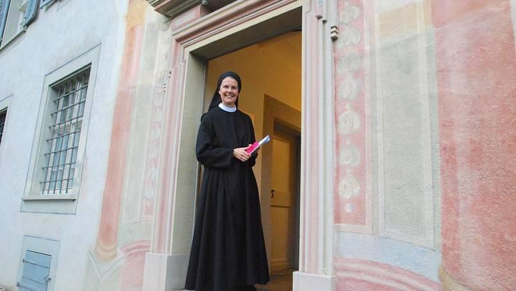 … ist auch Unternehmerin. Alle Bereiche des Klosters schreiben schwarze Zahlen.