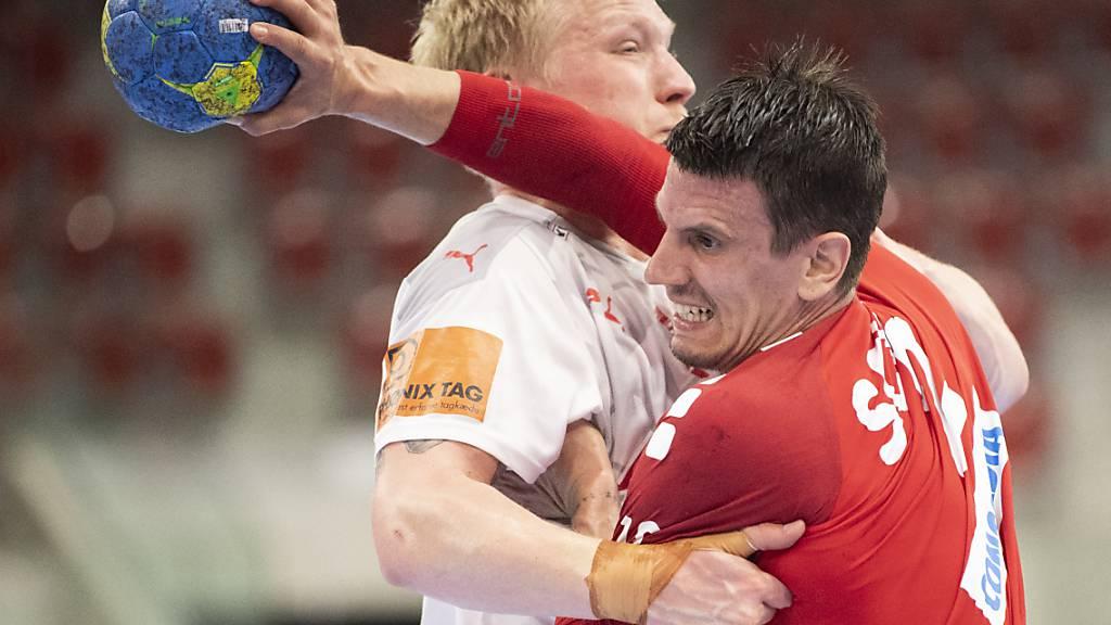 Andy Schmid und seine Kollegen wollen an die EM 2022