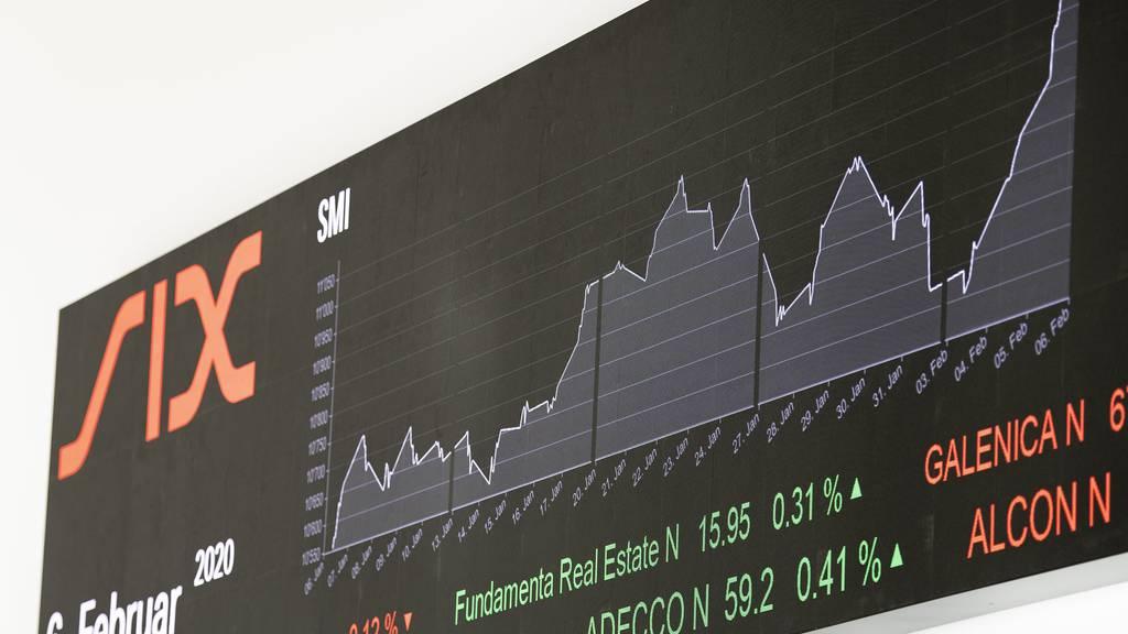 Noch im Februar hatte sich die Börse in einem Hoch befunden.
