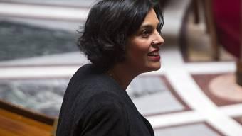 Arbeitsministerin Myriam El Khomri verteidigte das umstrittene Arbeitsrechtsgesetz im Parlament - die Debatten darüber beginnen heute.