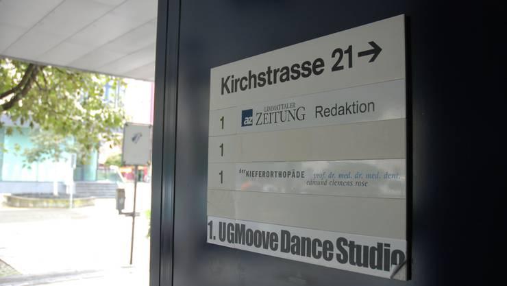 Der alte Standort an der Kirchstrasse 21