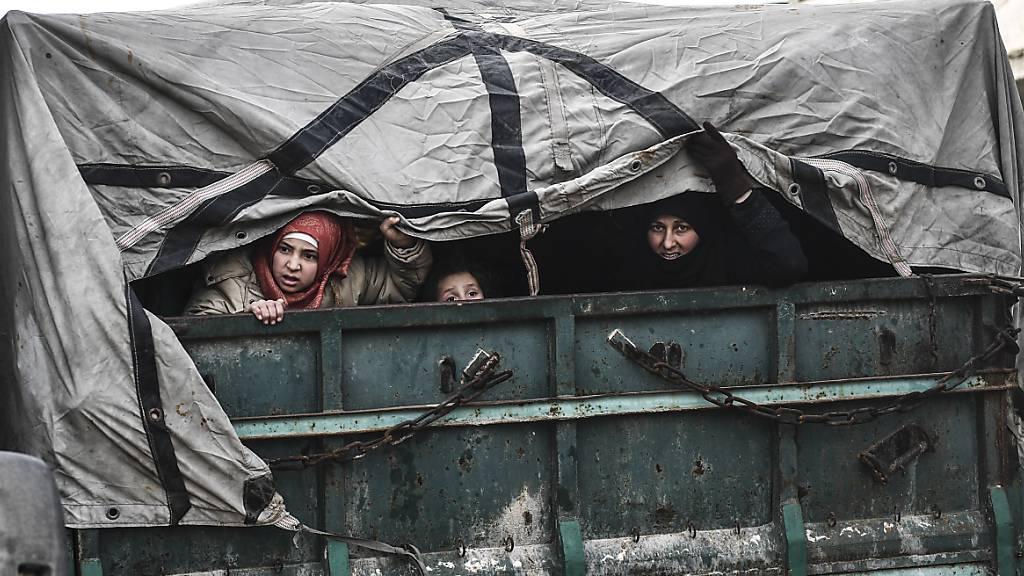 Syrien erlebt bislang schlimmste Flüchtlingskrise
