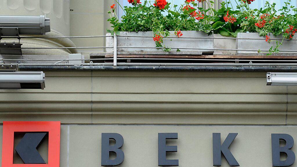 Berner KB macht mehr Gewinn im Halbjahr
