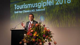 «Wir sind auch Tourismuskanton: Rerungsrat Urs Hofmann.