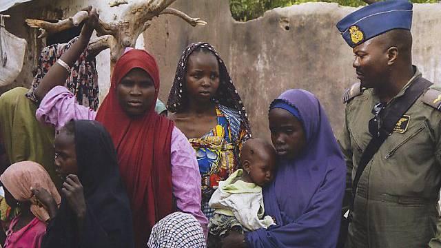 Die nigerianische Armee meldet die Befreiung weiterer Geisel