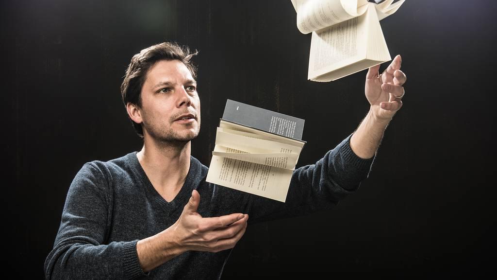 Schaufenster in Baden sorgt für einen Roman