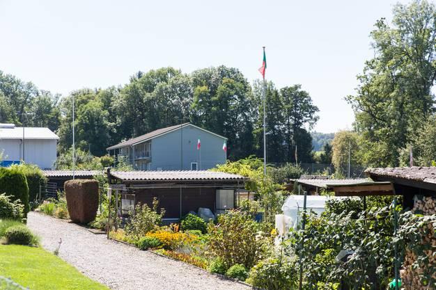 Die Asylunterkunft Tyslimatt in Urdorf wurde im Frühling 2009 eröffnet. Sie befindet sich direkt neben dem Werkhof.