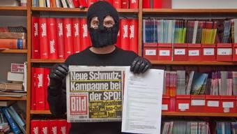 Die deutsche Bild-Zeitung hat eine Fake-Information der Titanic aufgenommen.