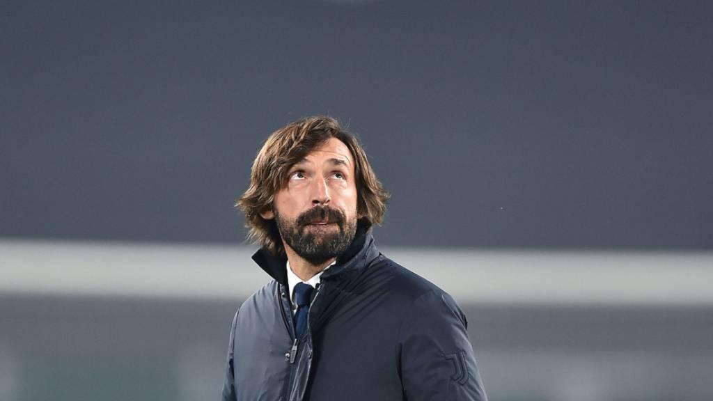 Andrea Pirlo konnte bislang den Erwartungen als Trainer von Juventus nicht gerecht werden