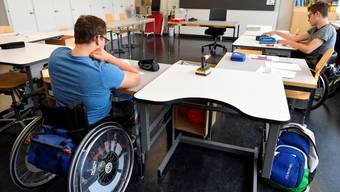 Um die Ansteckungsgefahr zu minimieren, werden die Klassen an Sonderschulen strikt voneinander getrennt.
