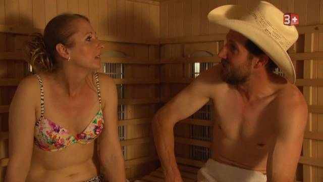 Isabels Sauna-Date mit Tom