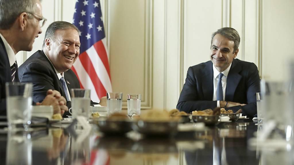 Pompeo besucht Griechenland - Militärkooperation wird ausgeweitet