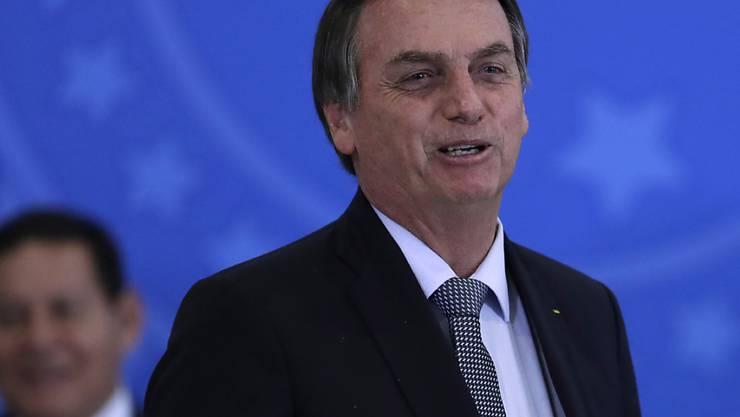Strategischer Schachzug oder Vetterliwirtschft: Brasiliens Präsident Jair Bolsonaro will eines seiner Kinder zum Botschafter des Landes in den USA machen. (Archivbild)
