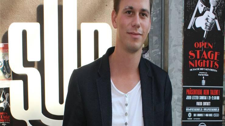 Florian Klein verblüfft mit schnellen und feinen Tricks und präsentiert neu jeden Monat die «Open Stage Nights».
