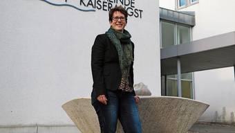 Die wirtschaftliche Lage von Kaiseraugst gibt Präsidentin Françoise Moser Grund zur Freude.