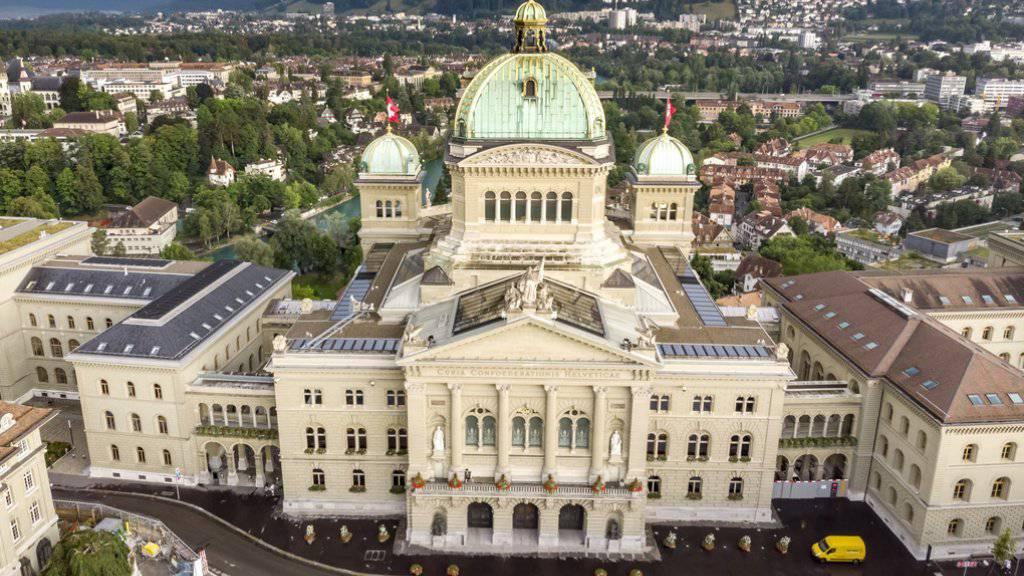 Bundeshaus soll vor Anschlägen geschützt werden