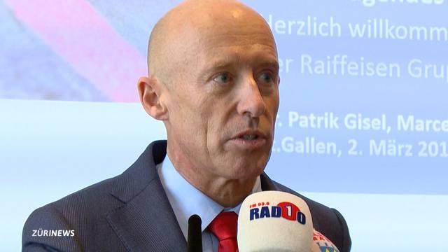Fall Vincenz: Raiffeisen-Chef nimmt Stellung