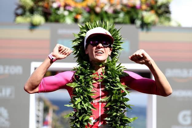 Ein Traumjahr geht zu Ende: Nach ihrem Sieg am Ironman von Hawaii im Oktober...