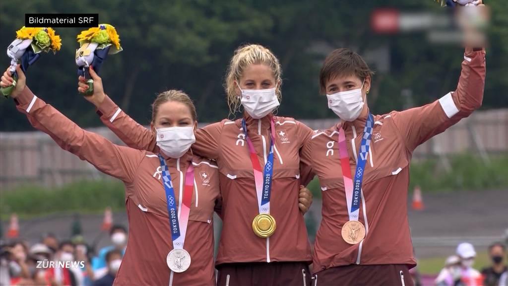 Frauenpower an den Olympischen Spielen: Athletinnen holen 9 von bisher 12 Schweizer Medaillen