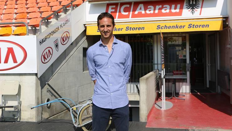 Ausnahmetalent des FC Aarau, Sandro Burki, wird neuer Sportchef.