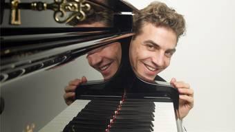 Der Schweizer Pianist Benjamin Engeli spielt in Brugg.