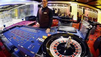 Roulette im Casino: In der Schweiz für knapp 40000 Personen tabu.