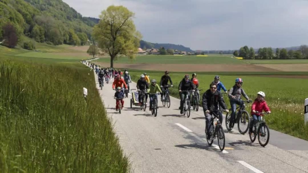 Unterwegs am slowUp Solothurn-Buechibärg 2019