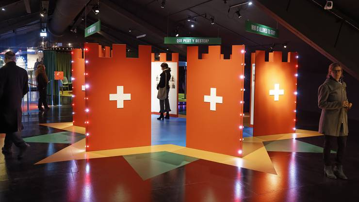 Mit 90'000 Besuchern in 12 Monaten wurde die Ausstellung «Heimat – eine Grenzerfahrung» zur erfolgreichsten des Stapferhauses Lenzburg.