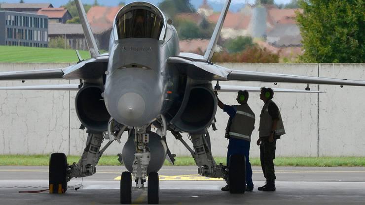 Das Verteidigungsdepartement sagt, man stütze sich auf Erfahrungswerte, im Besonderen auf die der F/A-18-Flotte.