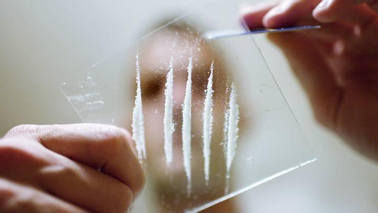 60 Gramm Kokain fand die Stadtpolizei Winterthur in der Wohnung des 29-Jährigen. (Symbolbild)