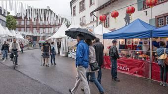 Das jährliche Klosterbergfest in Basel. (Archiv)