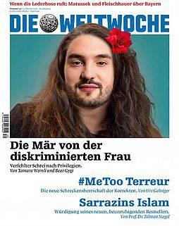 Weltwoche-Cover mit Cédric Wermuth