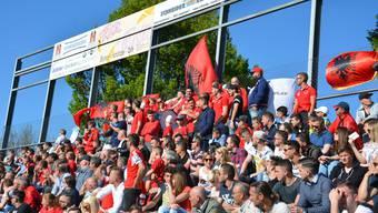 Die Fans des FC Iliria.