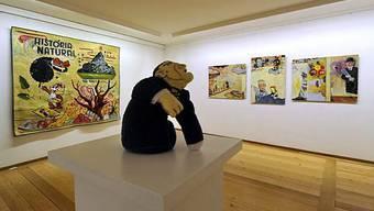 Am Comix-Festival Fumetto in Luzern sind unter anderem Werke von Atak ausgestellt