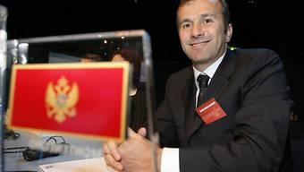 Präsident des Fussballverbandes von Montenegro: Dejan Savicevic.