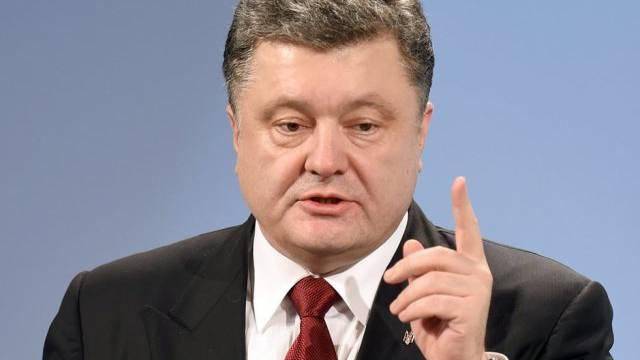 Fordert verschärfte Sanktionen gegen Russland: Poroschenko (Archiv)